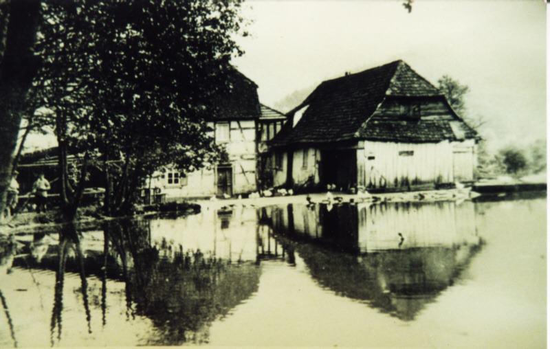 Der Neudahner Weiher 1920