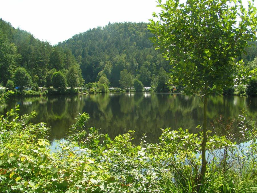 Unser Campingplatz am Neudahner Weiher